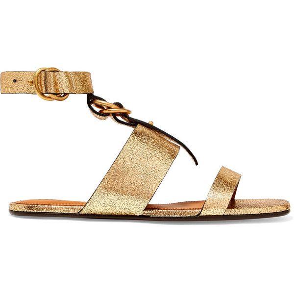 strappy studded sandals - Metallic Chlo owciJ