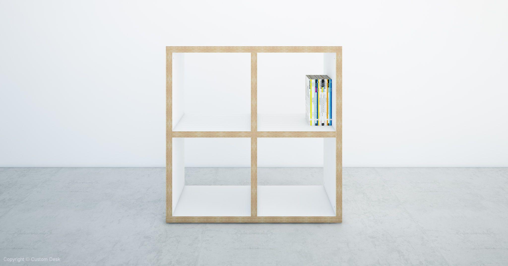 Custom Plywood Open Shelves 36mm