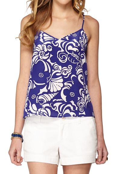 9959d3130e9 Lilly Pulitzer Dusk Racer Back Tank Top- Was  108