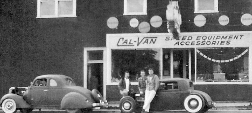Cal Van Auto Supply On Kingsway In Vancouver Bc Canada 1950 S