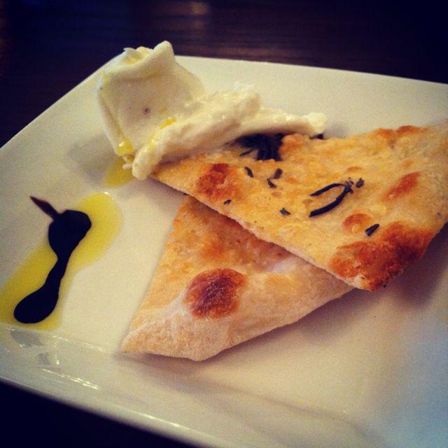 Burrata at Verace
