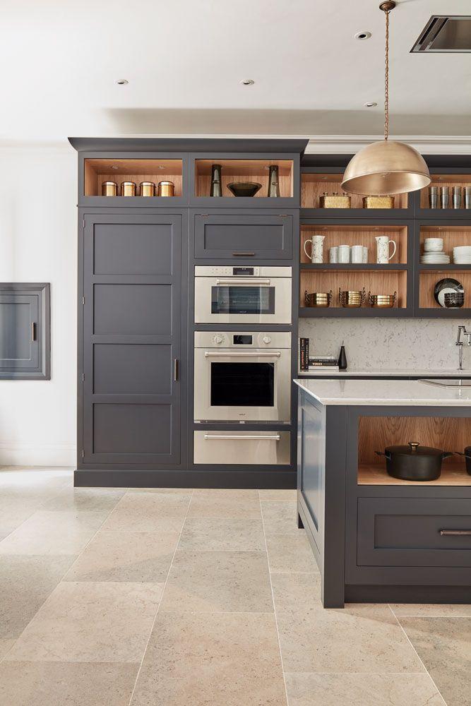 Dark Grey Shaker Style Kitchen Shaker Style Kitchens Kitchen
