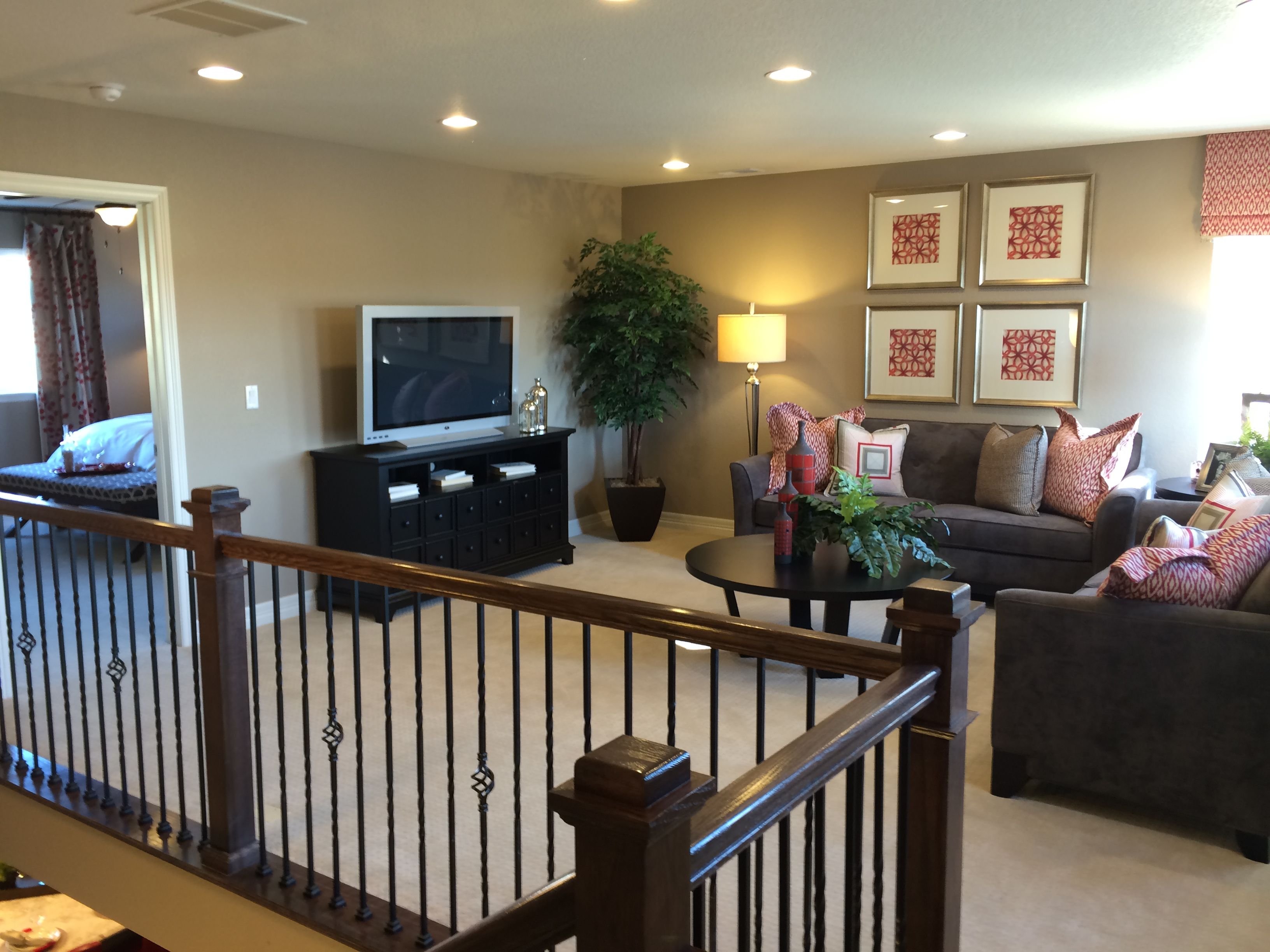By richmond american homes seth model family room area for American family homes