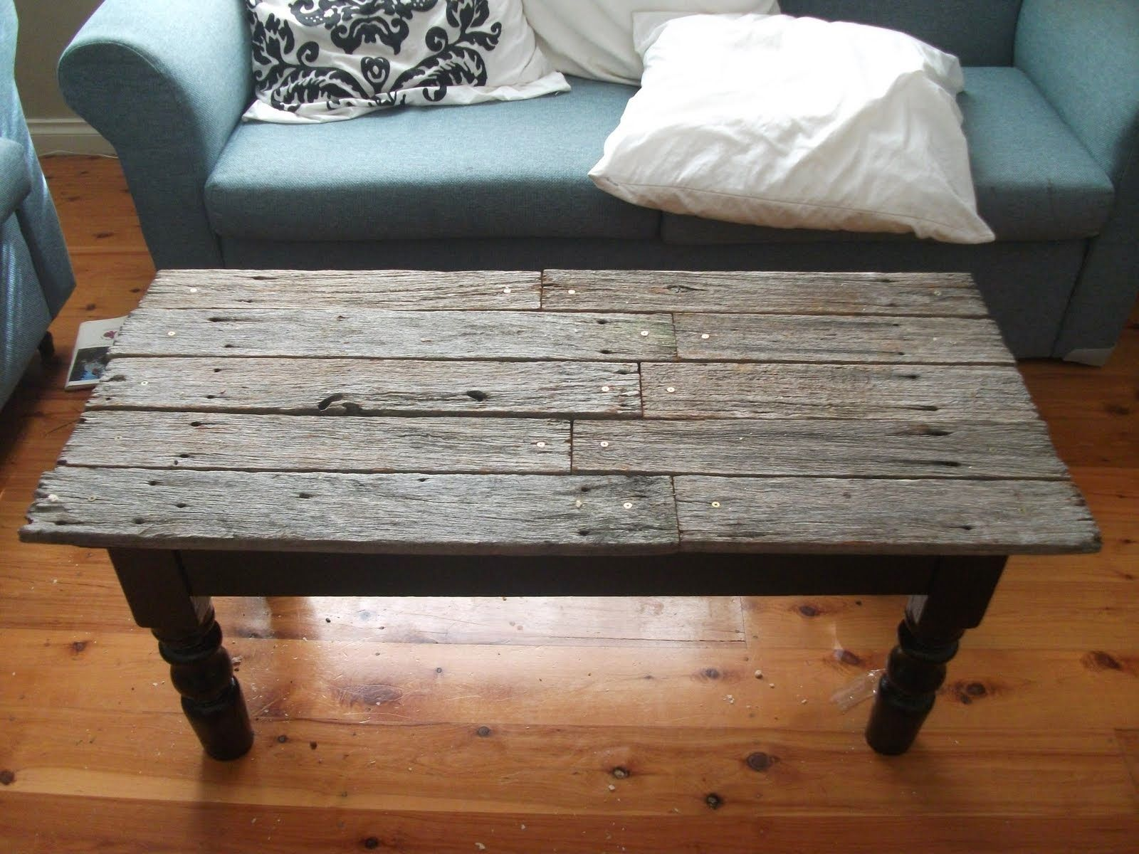 Old Wood Table Living E Coffee Furniture