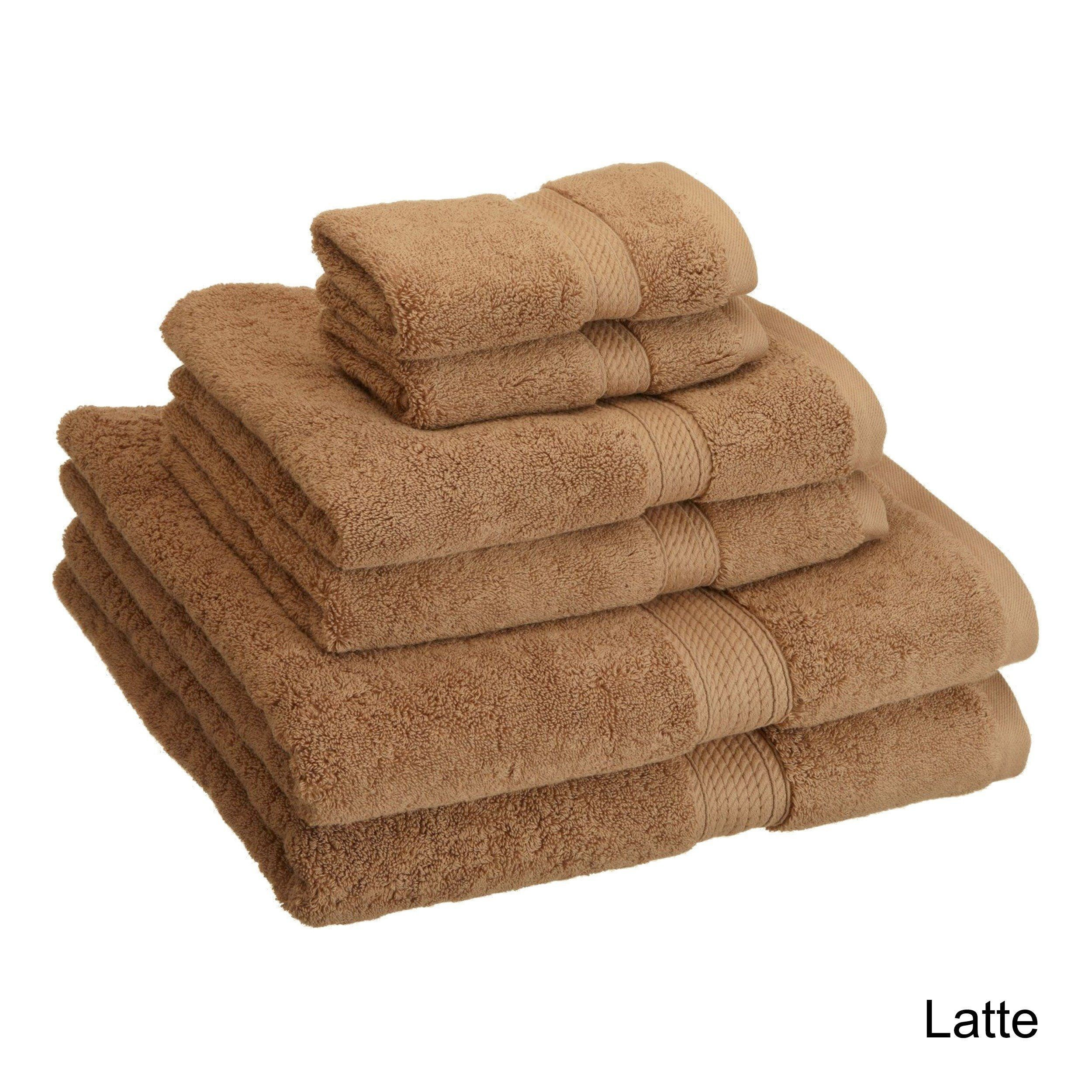 Superior Luxurious Absorbent 900 Gsm Combed Cotton 6 Piece Towel