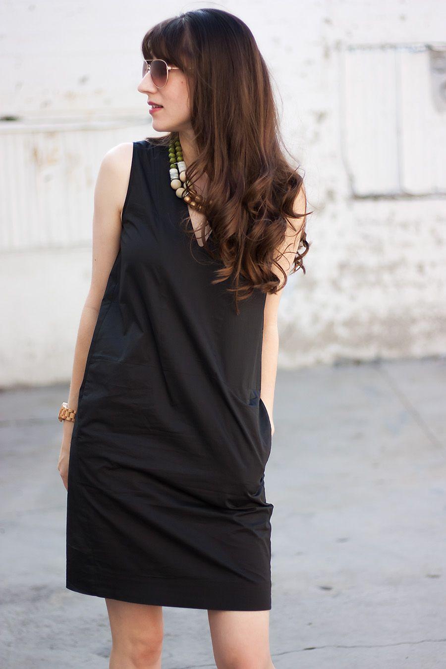 b90c3600b98 Everlane Cotton Poplin Sleeveless Dress