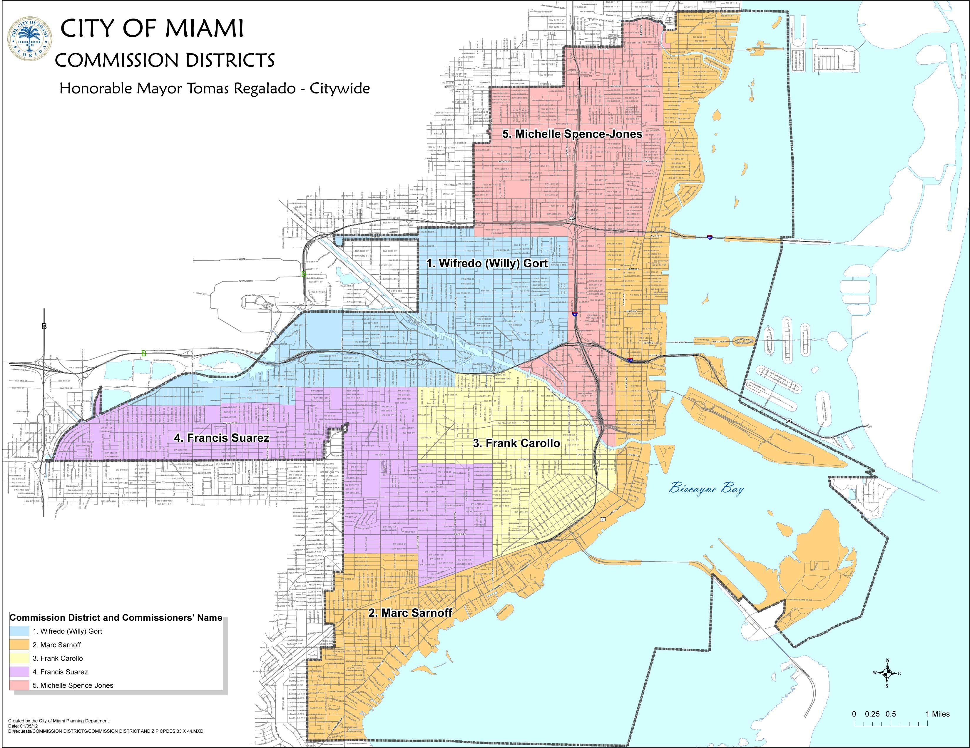 pincam coggburn on miami, florida | city, miami, present day