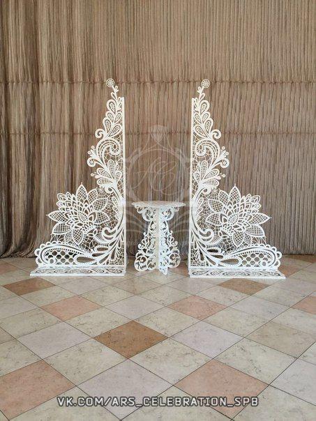 Ажурные арки своими руками 138