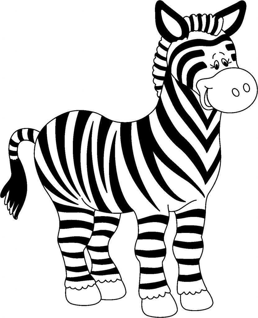 Dibujo Cebra Para Colorear Colorful Pictures Coloring Pages Zebras