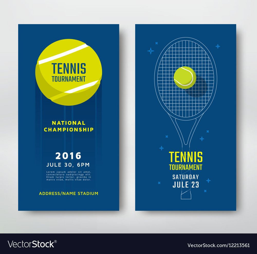 Tennis Championship Poster Royalty Free Vector Image Ad Poster Championship Tennis Royalty Ad With Images Music Poster Design Sport Poster Design Vector Free