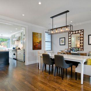 Douglass - transitional - Dining Room - San Francisco - Chr DAUER Architects