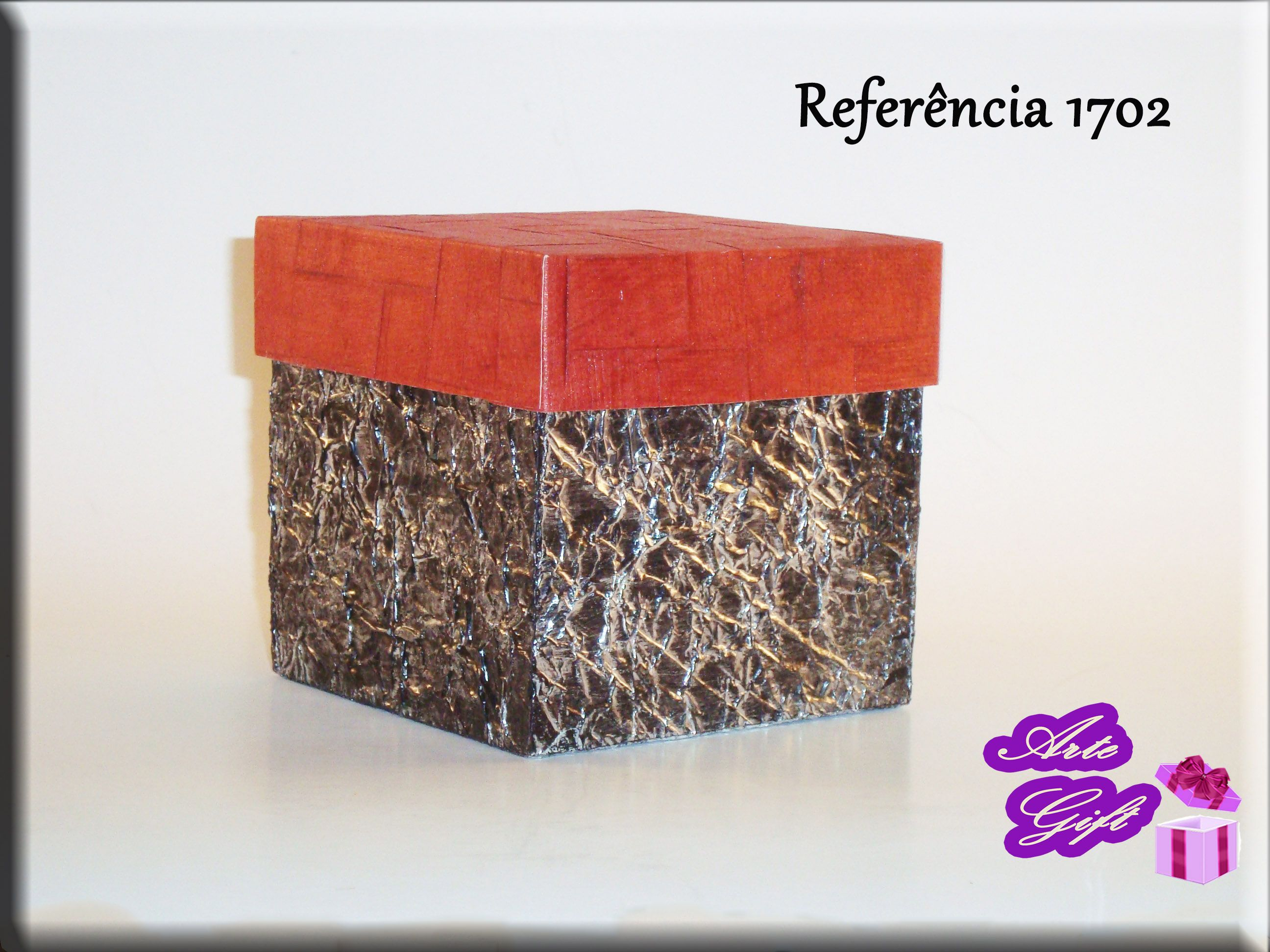 Caixa aluminío Red