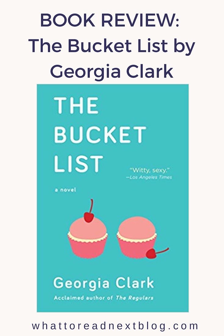 Book Review: The Bucket List by Georgia Clark. This is a story of a young  women who was diagnosed with the BRAC gene. This story follows her journey.