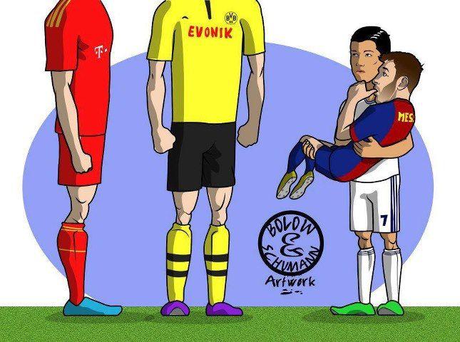 Bayern Dortmund Lustig