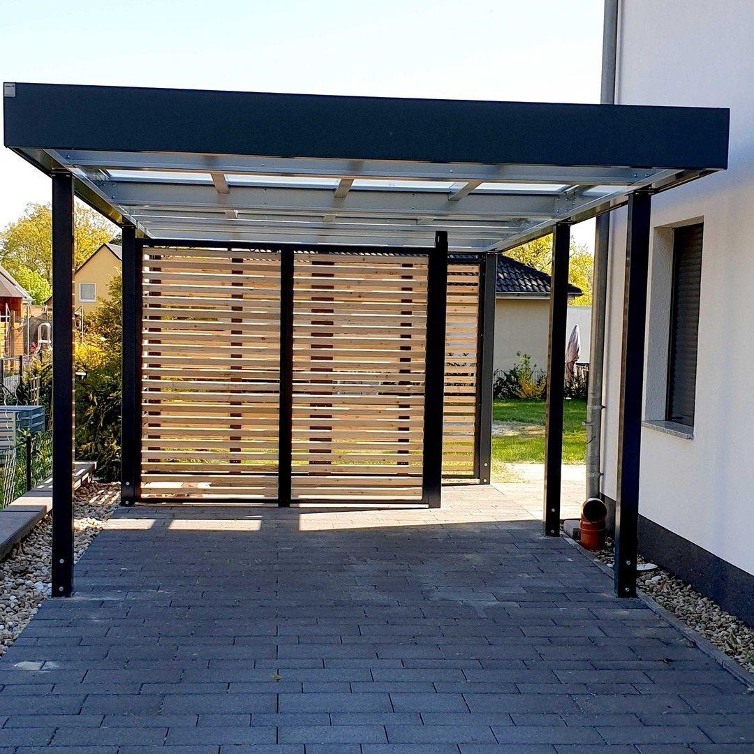 Auch Das Ist Moglich Carport Mit Einer Transparenten Dacheindeckung So Kommt Viel Licht In Das Carport Ideal Wenn Der Aufstellor In 2020 Outdoor Decor Home Outdoor