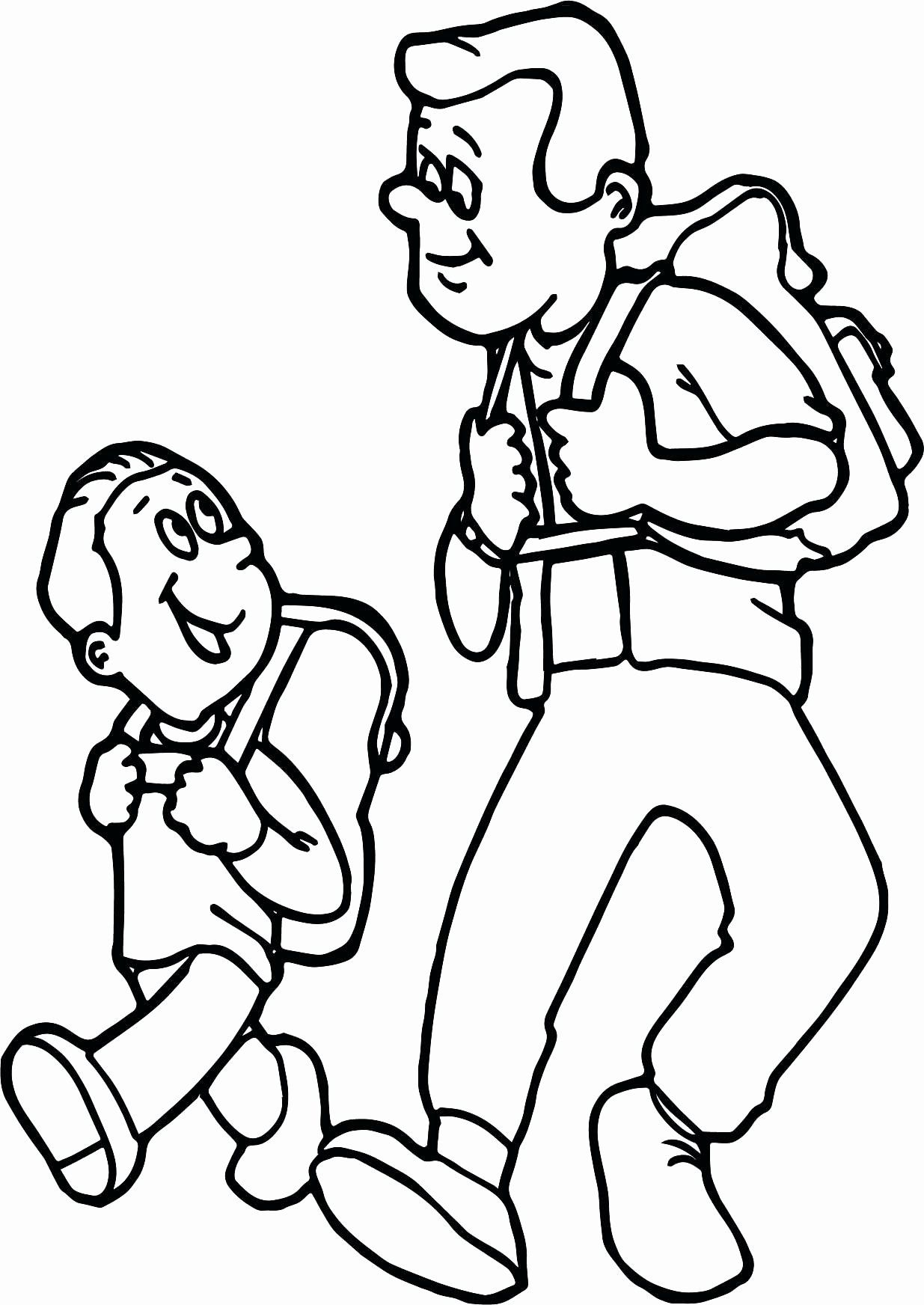 Father And Son Coloring Page Awesome Father And Son Coloring Pages At Getdrawings Camping Advice Coloring Pages Camping Trips