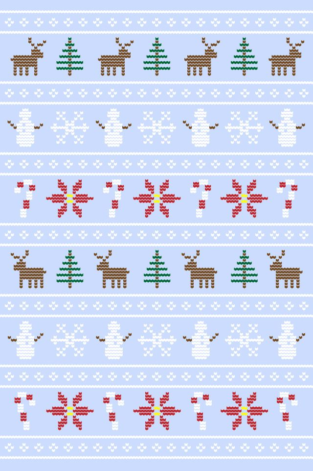 Winter Pattern Wallpaper Wallpaper Iphone Christmas Ipad