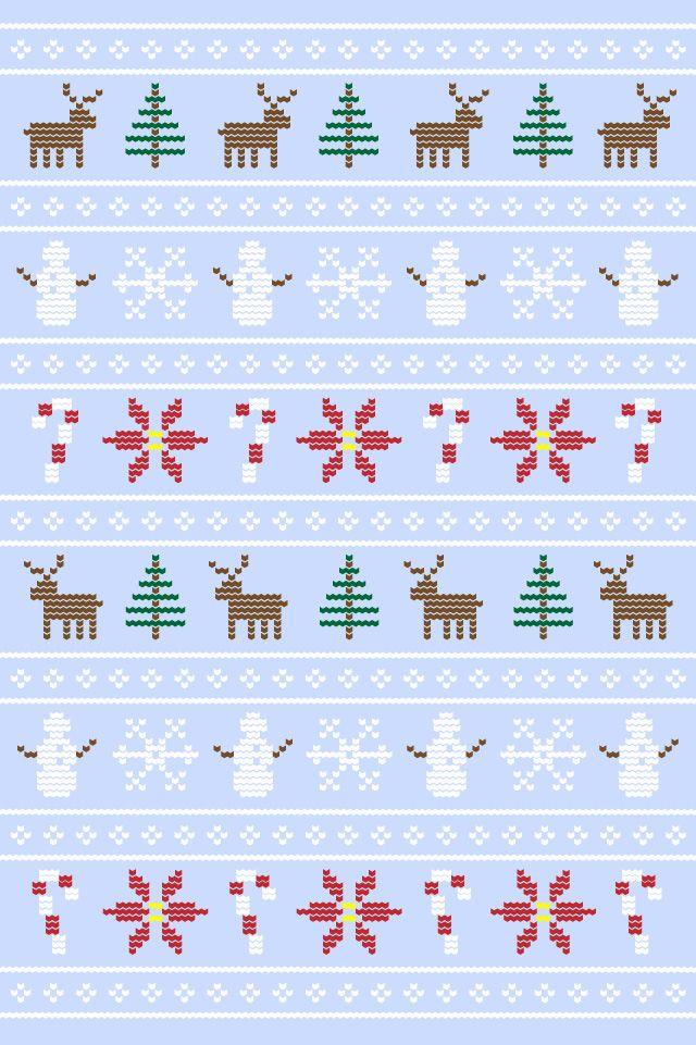 Uglysweater Wallpaper 960x640 Blue Wallpaper Iphone Christmas Ipad Wallpaper Watercolor Iphone Wallpaper Xmas