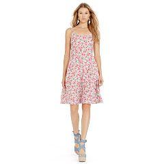 Floral-Print Linen Dress - Polo Ralph Lauren Short - RalphLauren.com