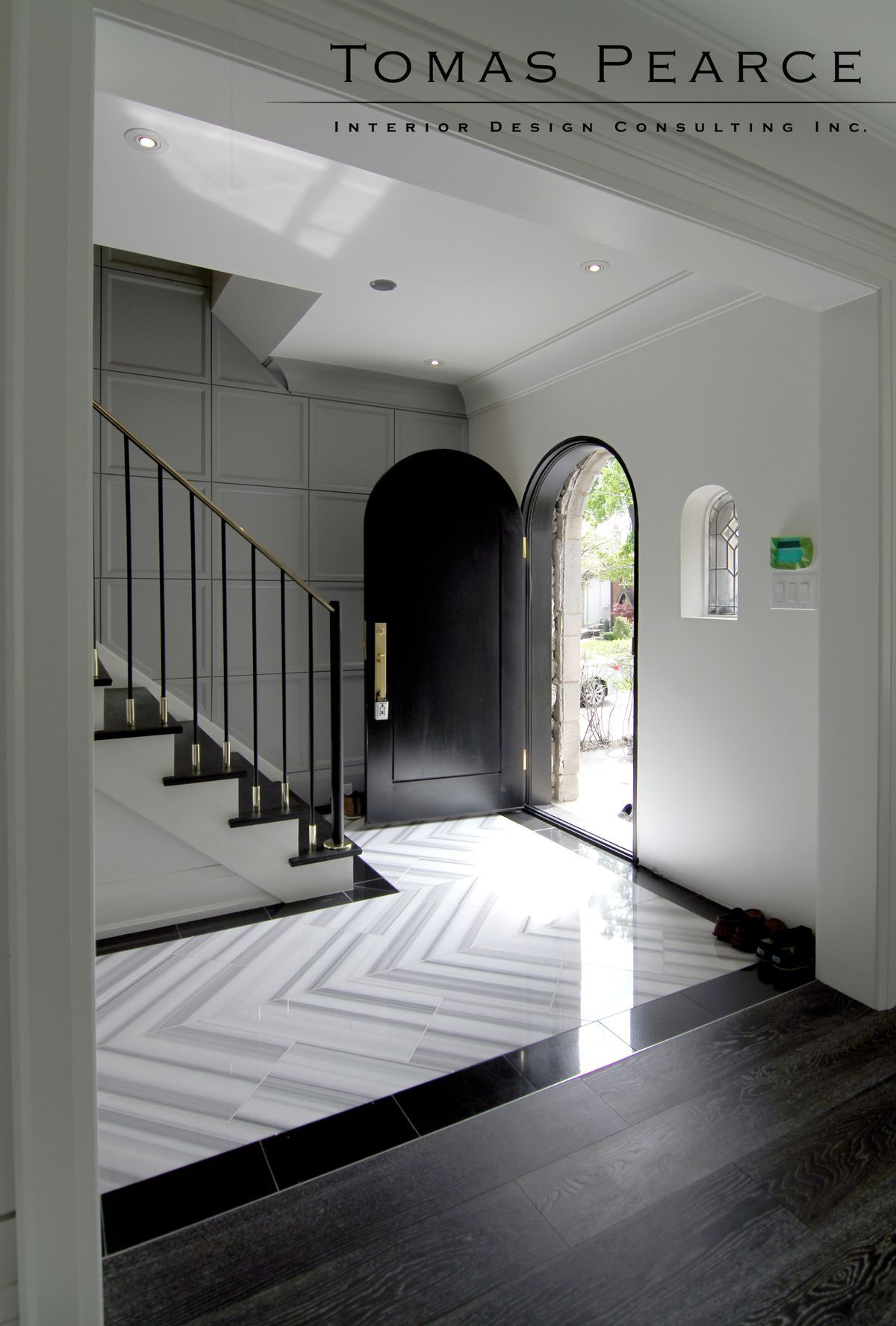 Pin By Beth Donner Design On Inspirations Tiled Hallway