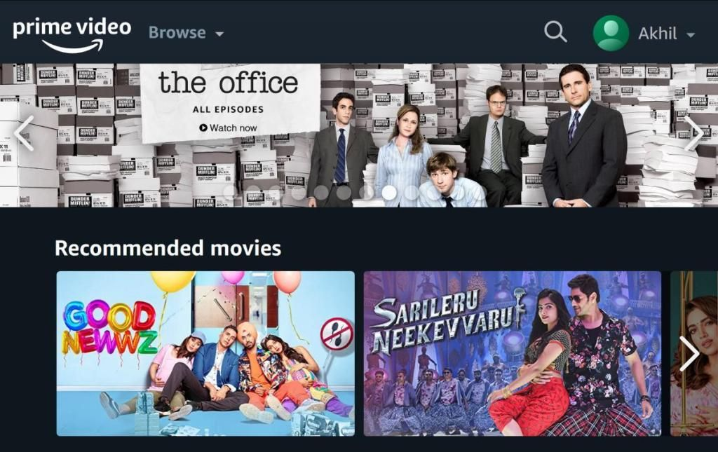 Does Amazon Prime video have profiles like Netflix? After