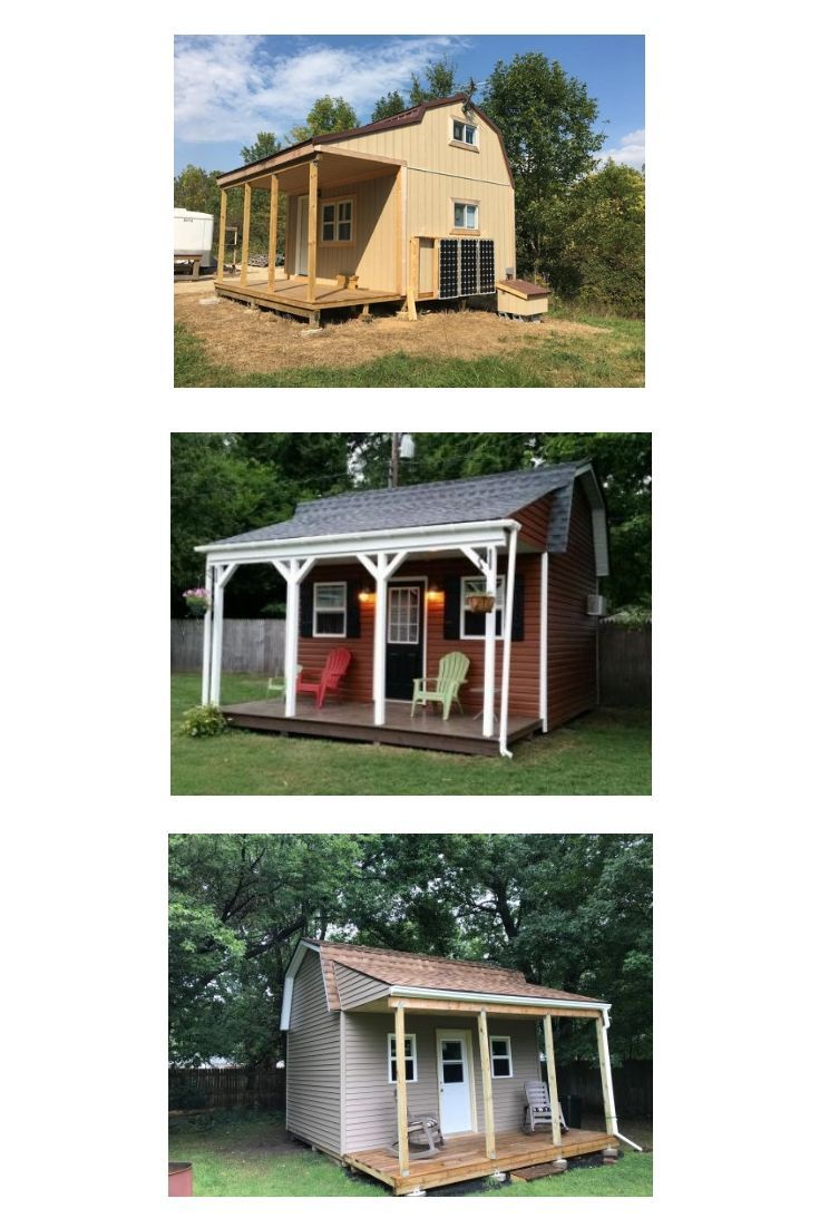 Plans For Building Shed Homes Tiny House Designs In 2019
