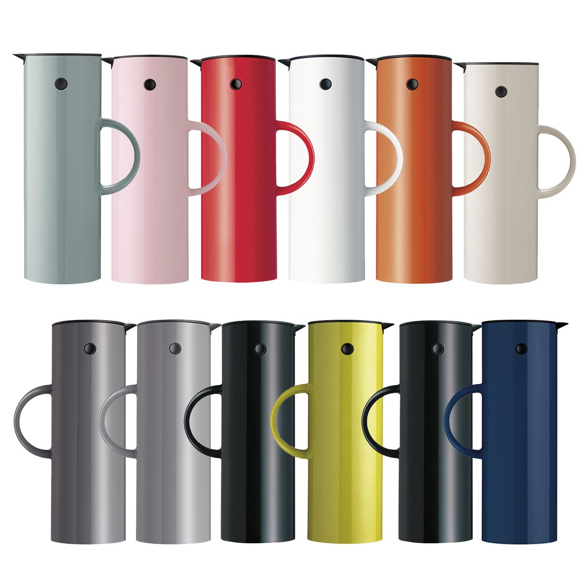 Classic Classic Features Designs Inspired By The Cylindrical Shape Like The Em77 Coffee Vacuum Jug By Erik Magnussen Elegant Stelton Selling Design Vacuums