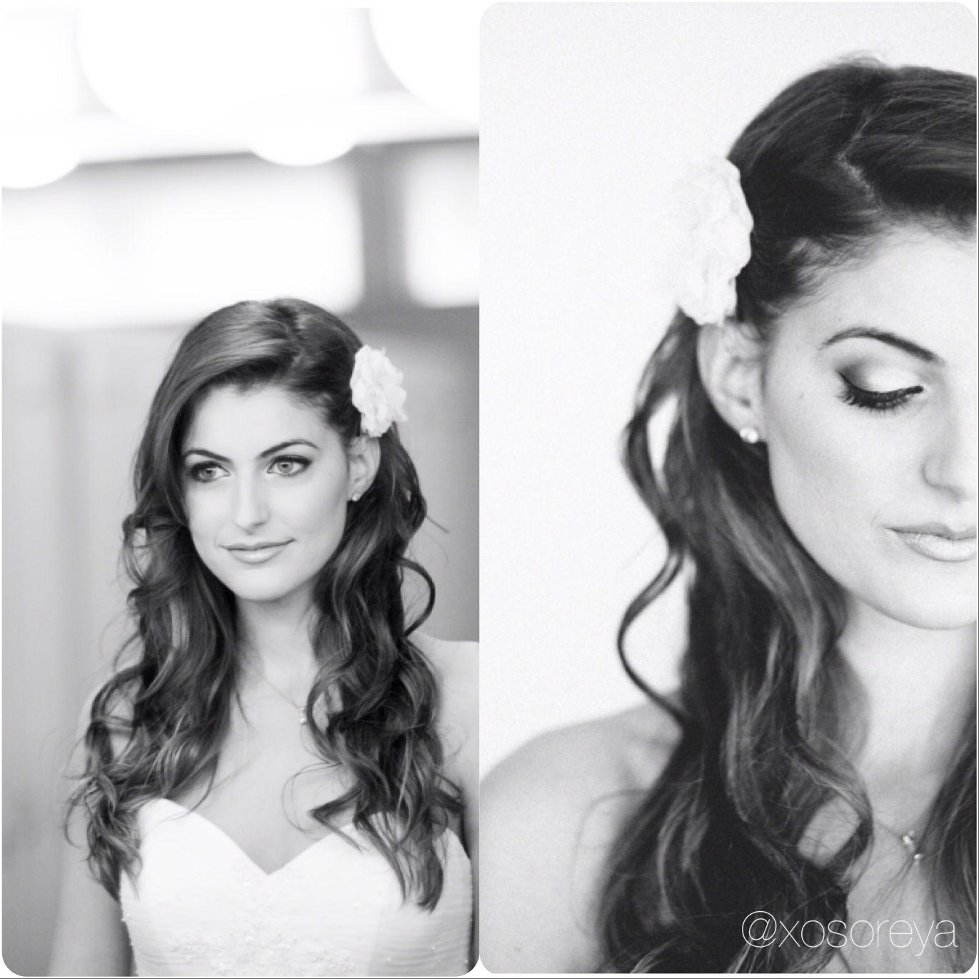 Wedding curls all down | Wedding hair | Pinterest | Wedding curls ...