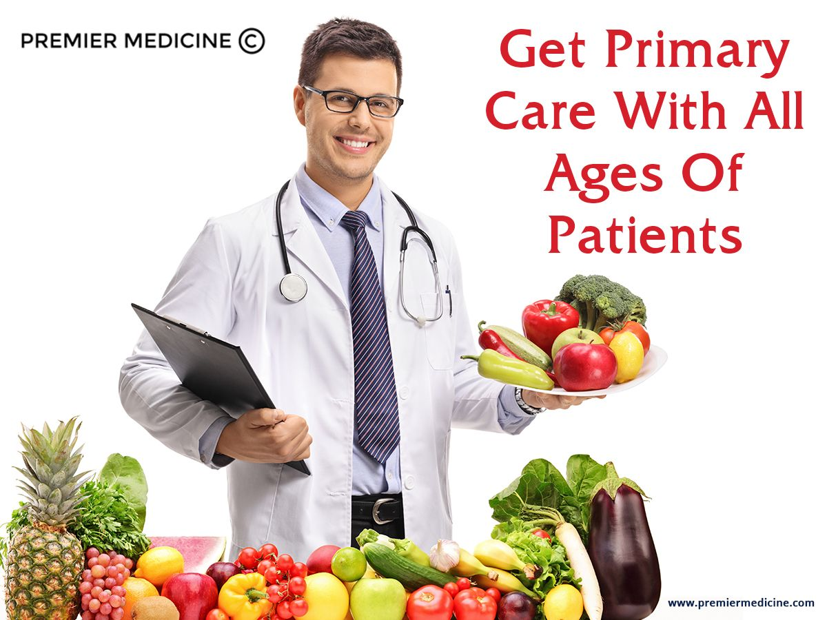 We cater to patients of all ages with primary care, so