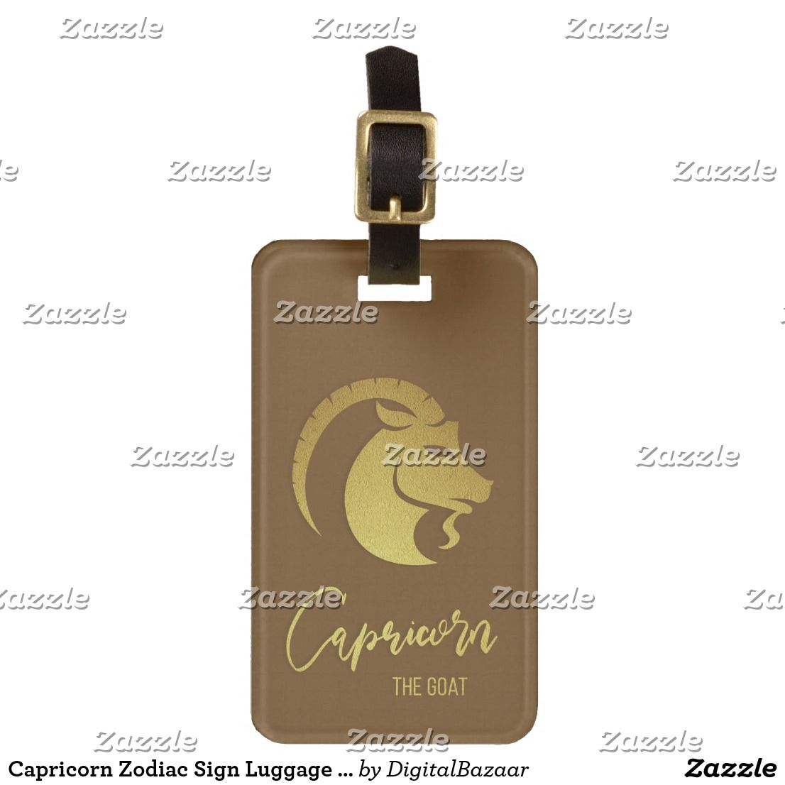 Zodiac Signs Luggage Strap