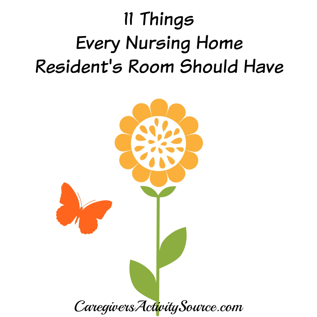 If you have a family member in a nursing home, here are some things ...