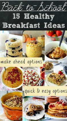 Healthy Back-to-School Breakfast Ideas images