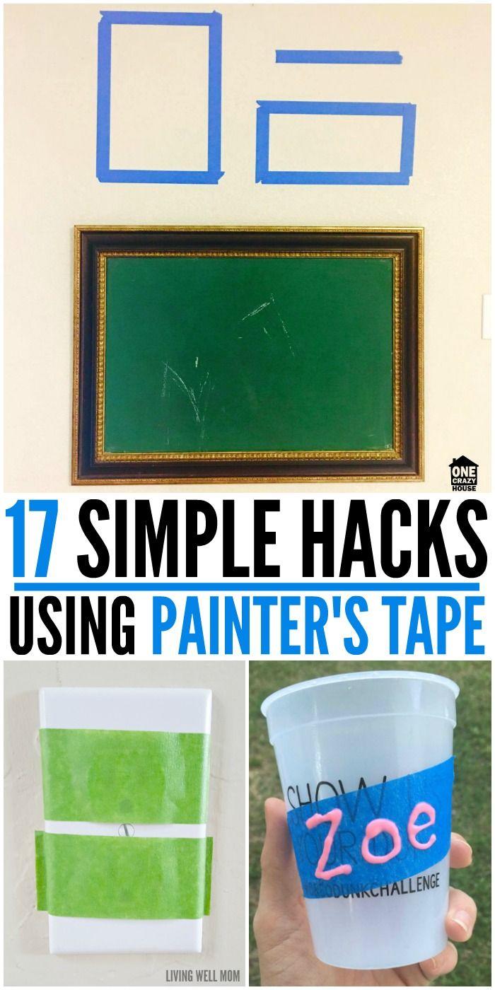 17 Simple Hacks Using Painter's Tape