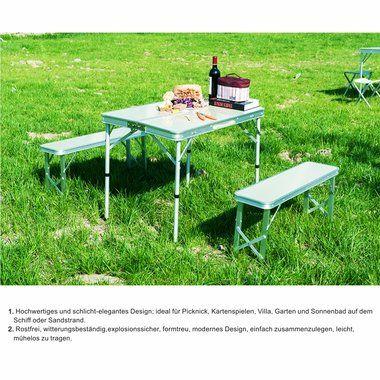 Znl 1 Tisch Aluminium Klapptisch Koffertisch Campingtisch 2