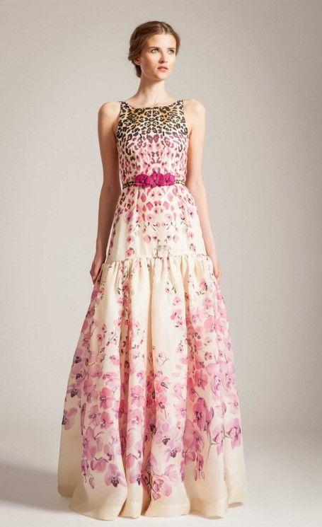 Long Orchidea Full Dress   Designer Dresses   Temperley London ...