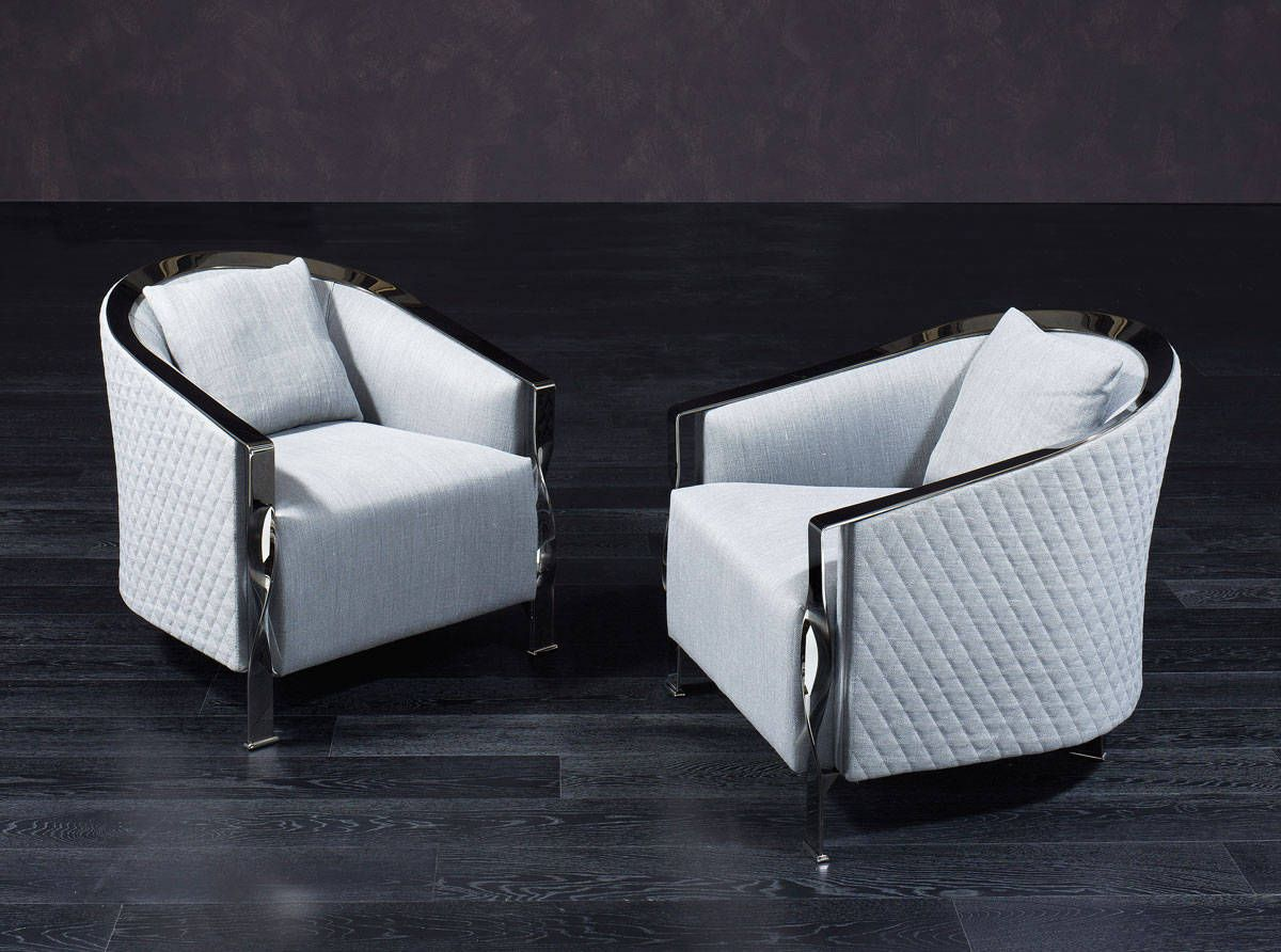 Rugiano The Paris Armchair Designed By Carlo Colombo Has A  # Rugiano Muebles