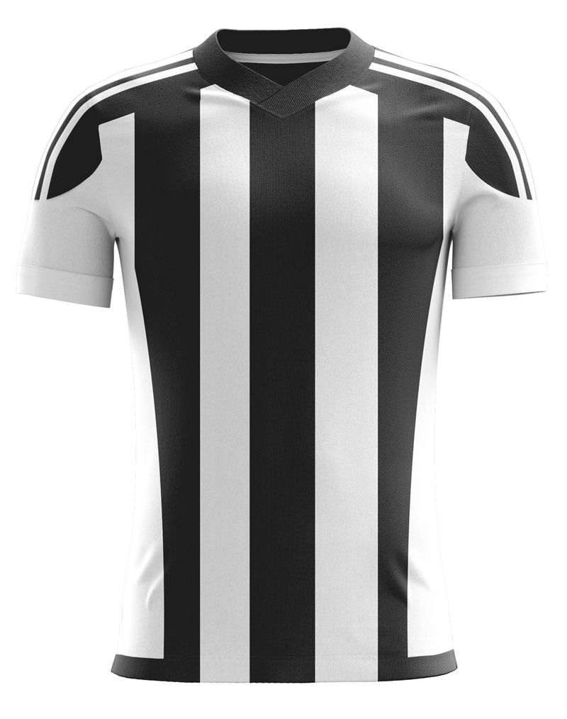 Black White Stripe Soccer Jersey Can Customize Here At Dsports