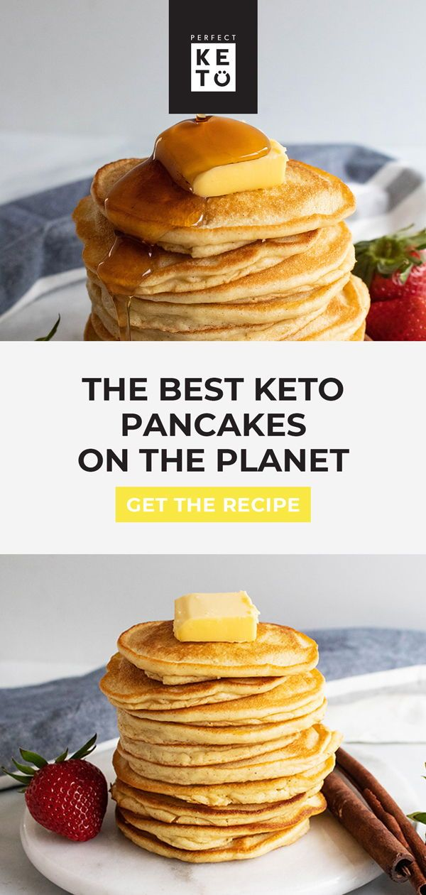 The Best Keto Pancakes on the Planet - Perfect Keto