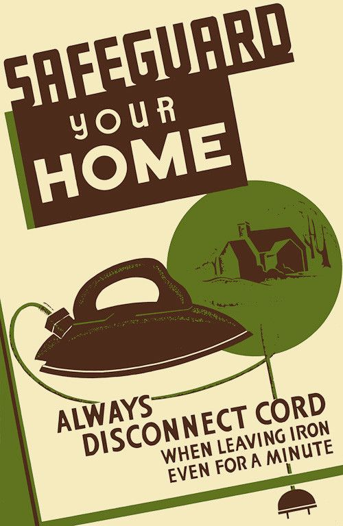 Safeguard Your Home Federal and Wpa posters - lost pet poster template