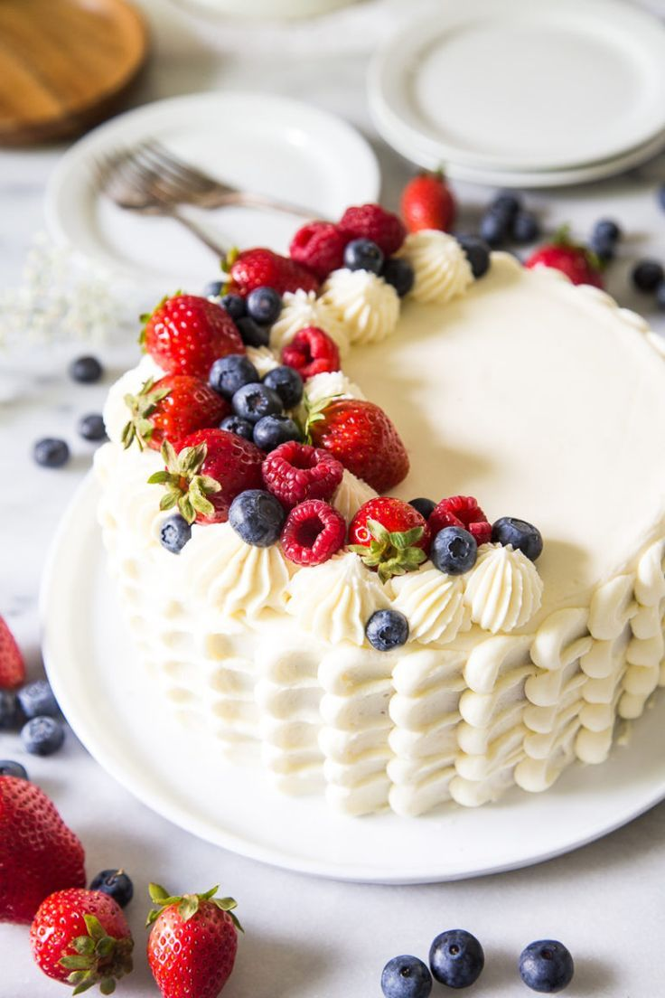 Berry chantilly cake lark linen recipe berry