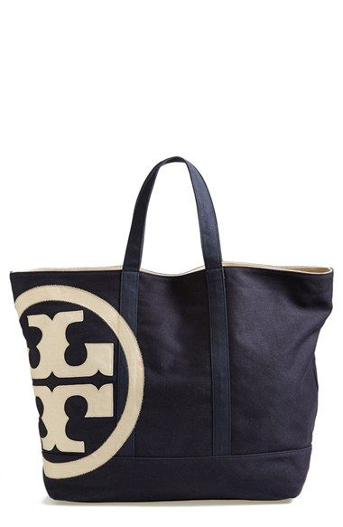 9e5f3c0e9c75 Tory Burch  Beach  Logo Canvas Tote available at  Nordstrom ...