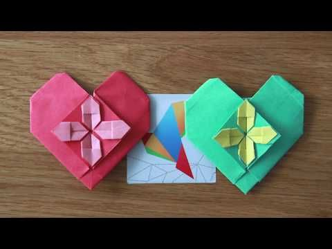 Photo of Express artifacts! Very beautiful love origami, teach you to learn easily!