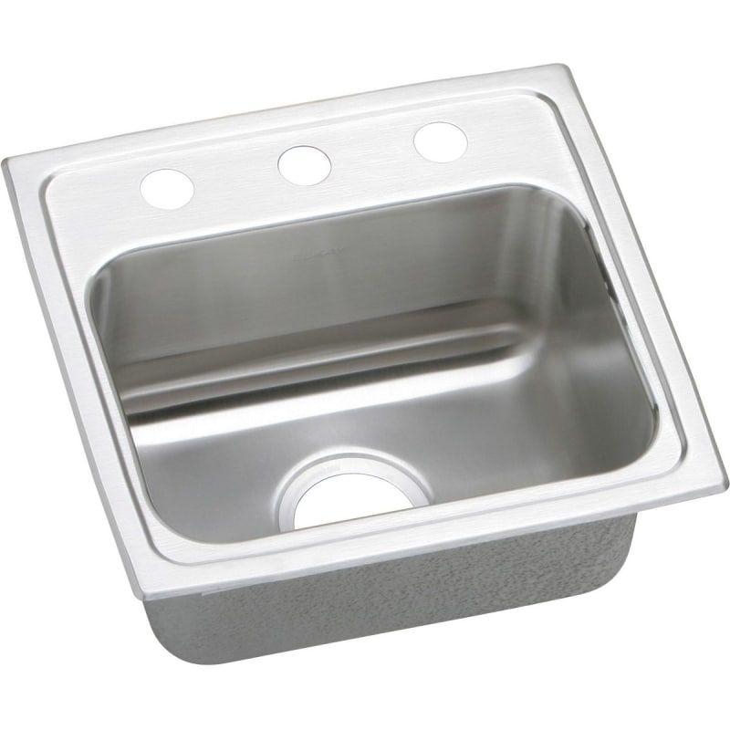 Elkay LR1716 Gourmet 17 Single Basin 18 Gauge