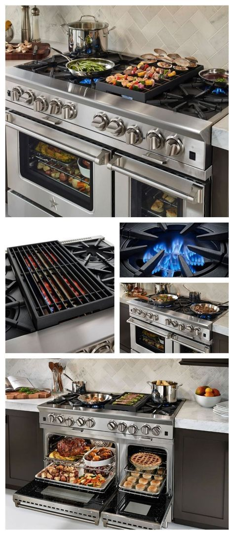 48 Platinum Series Gas Range Freestanding Range Bluestar Cooking Decoracion De Cocina Moderna Decoracion De Cocina Herramientas De Cocina