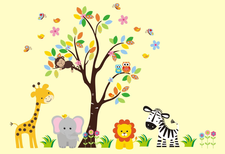 Baby Girls Wall Decals - Baby Girl Nursery Decor - Cute Girls ...