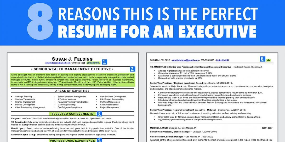 8 Reasons This Is An Ideal Résumé For Someone With A Lot