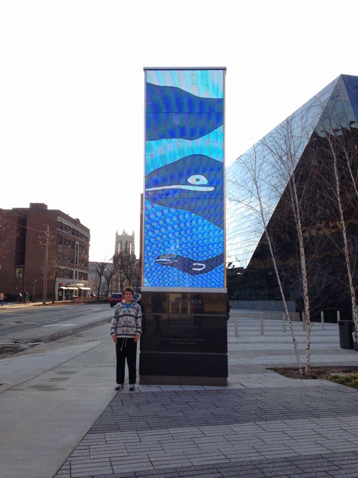 Contemporary Pylon Sign