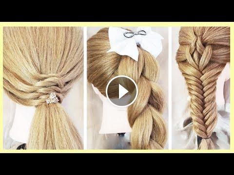 تسريحات شعر بسيطةوسهلة للمدرسة2018 Cute Hairstyles For School Easy تسريحات شعر مدرسة سريعة بسيطة يومية تسريحات لل Monster Drawing Cartoon Drawings Hair Styles