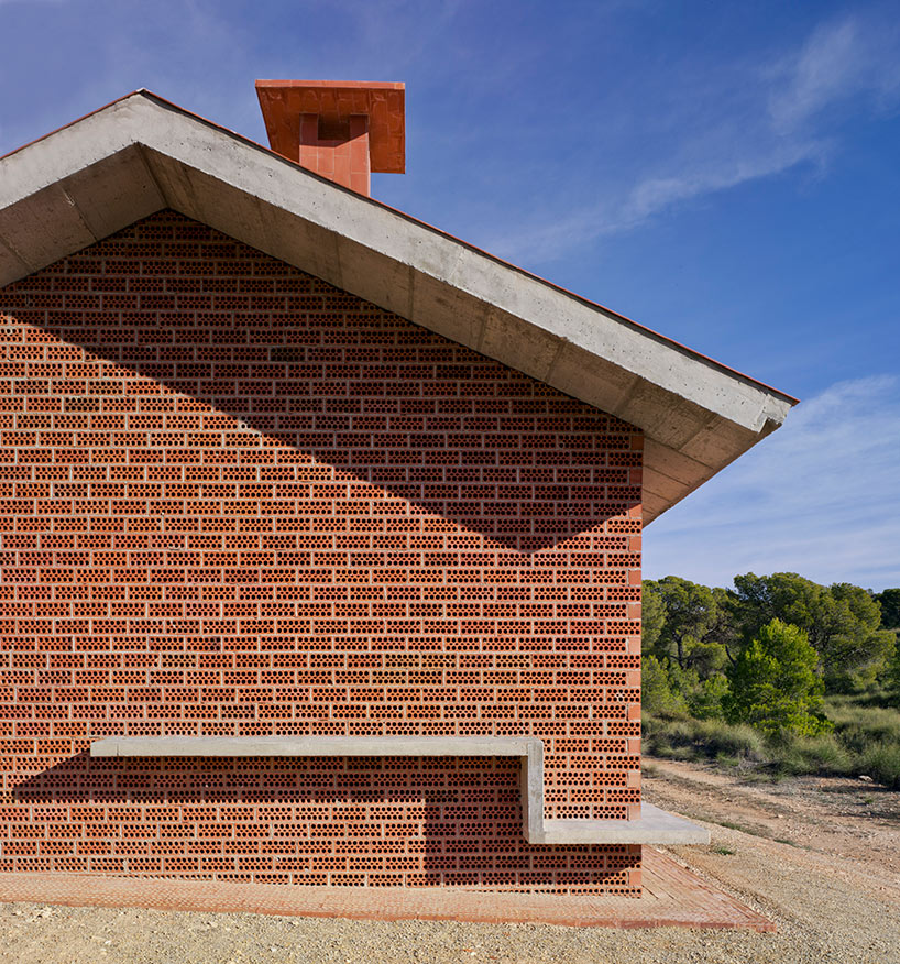 Martin Lejarraga Restores La Casa Del ángel Shelter In Rural Spain Red Brick House Brick Red Bricks