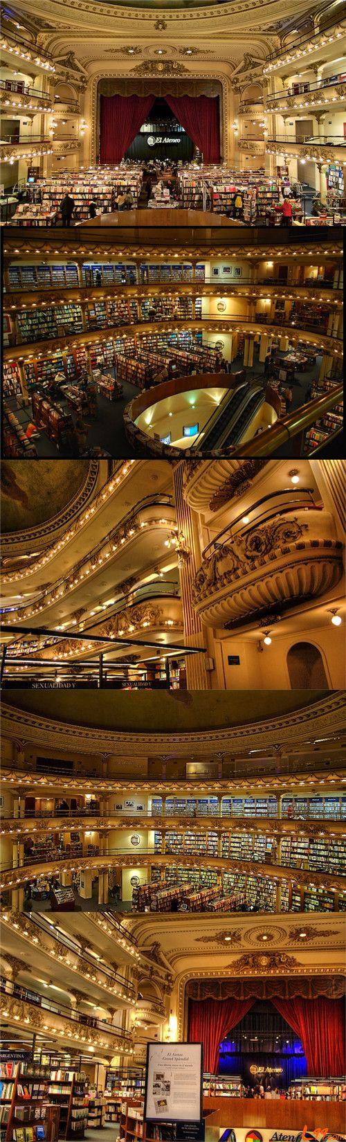 El Ateneo Grand Splendid in Recoleta